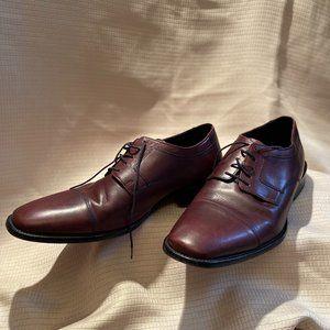 Johnson & Murphy, Oxford burgundy leather, 12W